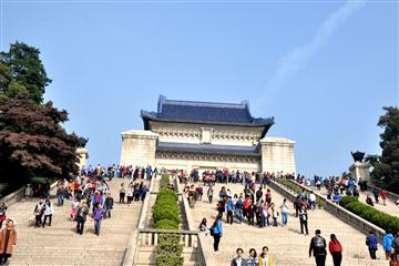 千年古城南京中山陵、閱江樓、大報恩寺、夫子廟純玩二日游