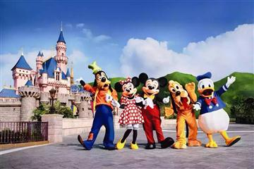上海海昌极地海洋公园、上海迪士尼主题乐园度假纯玩二日游