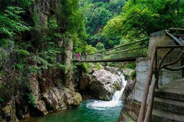 余杭山沟沟•彩虹谷•玉流飞瀑•连天十八瀑休闲度假五日游