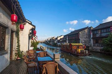 杭州双遗景点——漫步西湖,京杭大运河游船,香积寺一日游