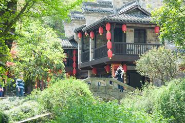 金秋山货美食的盛宴--红灯笼庙会、瑶琳仙境、梦幻龙门古镇特色纯玩二日游(一价全含)