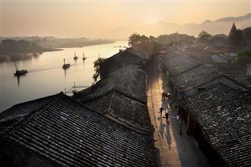 丽水古堰画乡、九龙湿地公园、景宁畲族婚嫁品质二日游