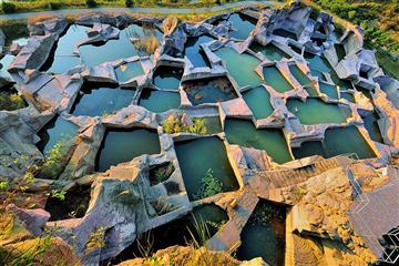 打卡网红马卡龙色七彩小箬村、360海山观景台、三门蛇蟠岛休闲二日游