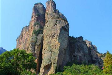 雁荡山四大景点(灵岩+大龙湫+灵峰日景+夜景)纯玩品质二日游