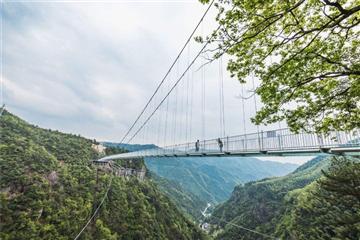 灵江源森林公园(高空景观玻璃桥)一日游
