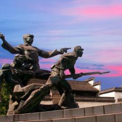 暑假湖州长兴仙山湖、大唐贡茶院、江南红村忆苦思甜纯玩二日游